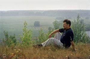 2002.Москва Валерий Пак.Певец бард,исполнитель романсов. Был популярен в 80х годах